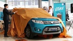 Vitara в Нижнем Новгороде: Мы встретили новинку от Suzuki!
