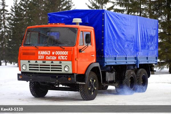 КамАЗ-5320 фото