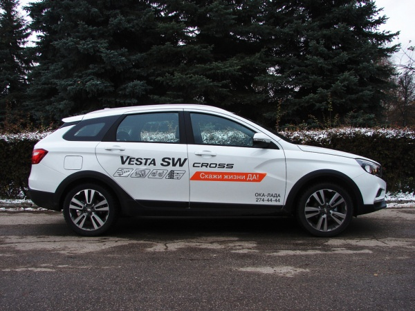 LADA (ВАЗ) Vesta SW Cross универсал фото