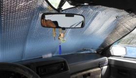 Почему автолюбители отказываются от отражателей для лобового стекла?