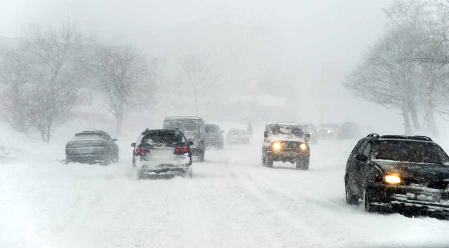 Автомобили зимой фото