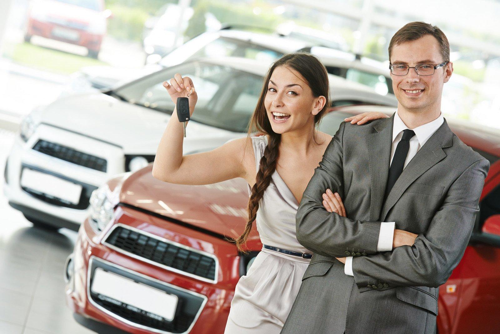 Покупка бу автомобиля в салоне